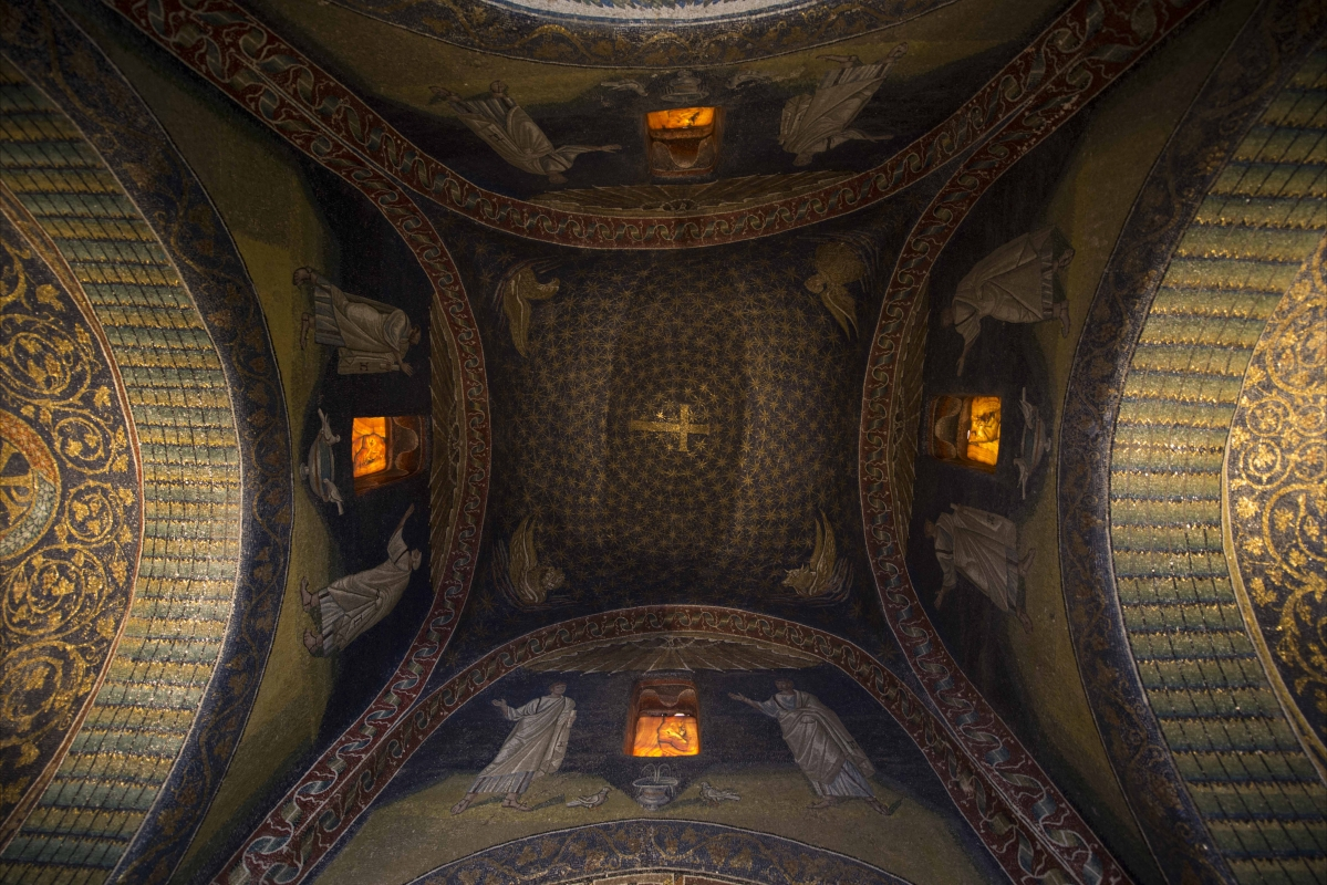 Mausoleo Galla Placidia volte - Wwikiwalter - Ravenna (RA)