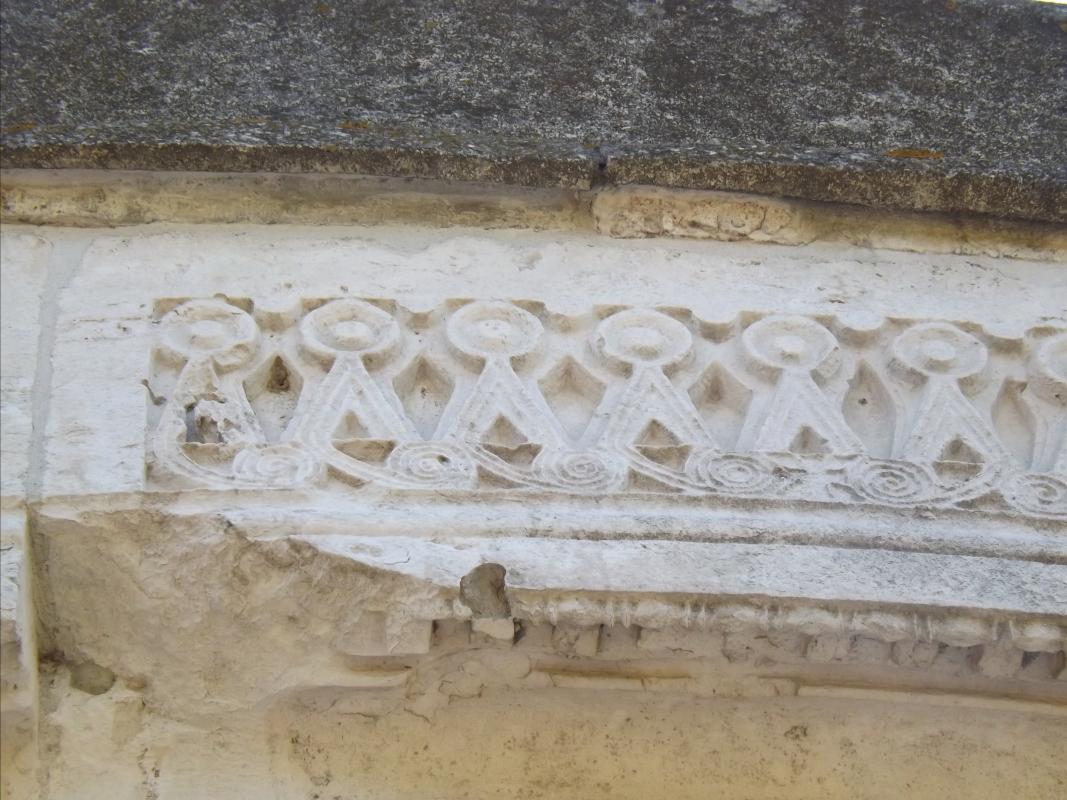Motivo a tenaglia, Mausoleo di Teodorico - Cristina Cumbo - Ravenna (RA)