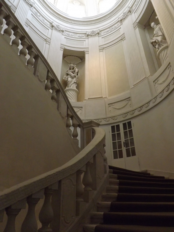 Scalone monumentale, Museo Archeologico Nazionale di Ravenna - Cristina Cumbo - Ravenna (RA)