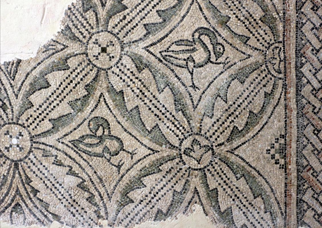 Mosaici pavimentali da san severo a classe, 590 dc ca. 02 - Sailko - Ravenna (RA)