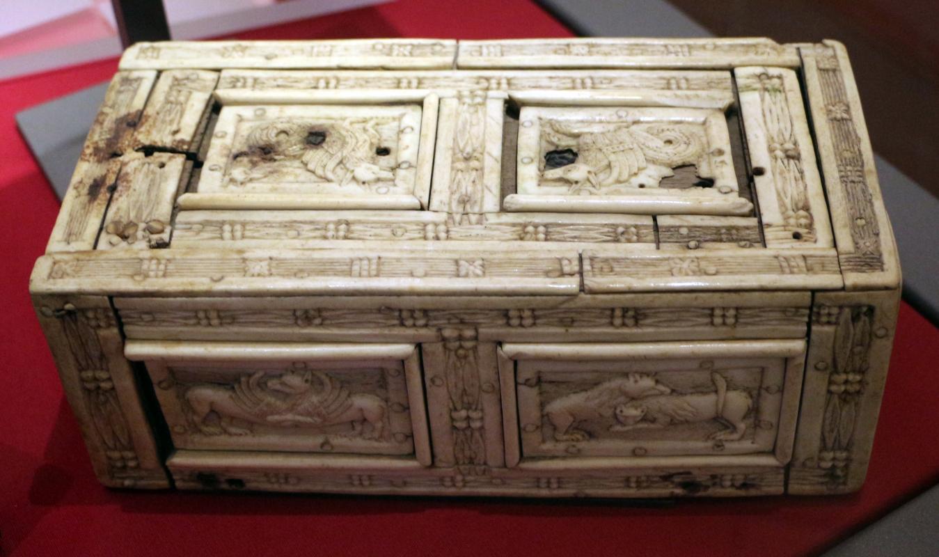 Venezia, cofanetto con decori zoomorfi, 1100-1150 ca - Sailko - Ravenna (RA)