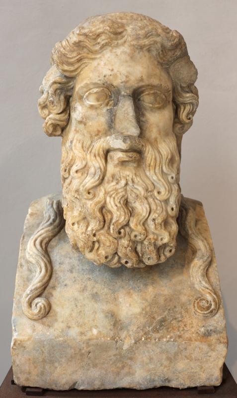 Erma di dioniso-platone, 150-200 dc ca., da roma - Sailko - Ravenna (RA)