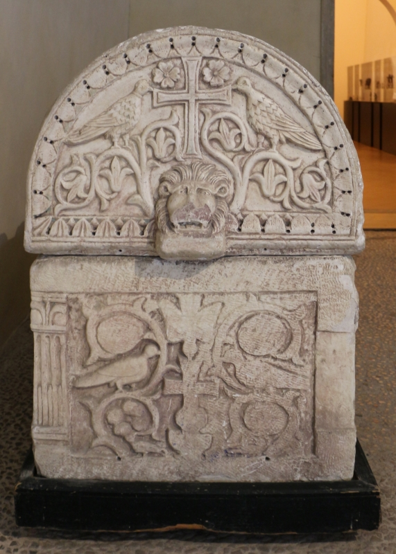 Calco del sarcofago ravennate dell'arcivescovo teodoro, 02 - Sailko - Ravenna (RA)