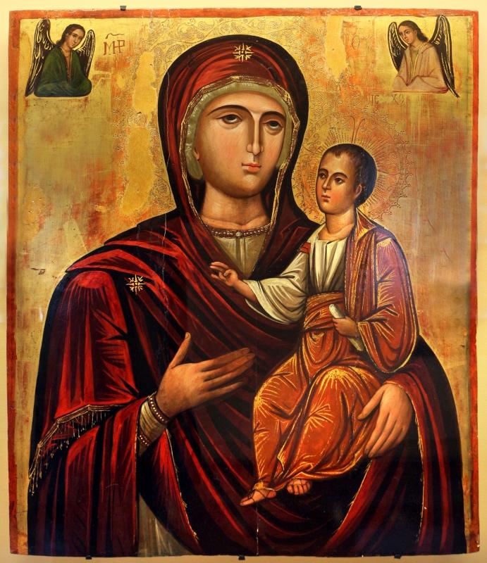 Andrea ritzos (scuola), madonna odighitria, xvi secolo - Sailko - Ravenna (RA)