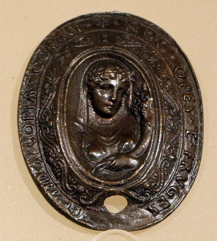 Scuola di roma, abbondanza, 1450 ca - Sailko - Ravenna (RA)