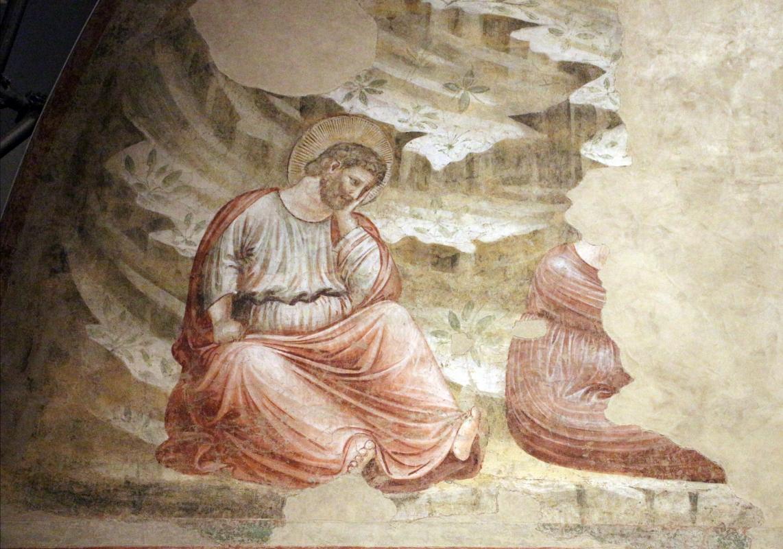 Pietro da rimini e bottega, affreschi dalla chiesa di s. chiara a ravenna, 1310-20 ca., natività e annuncio ai pastori 03 - Sailko - Ravenna (RA)