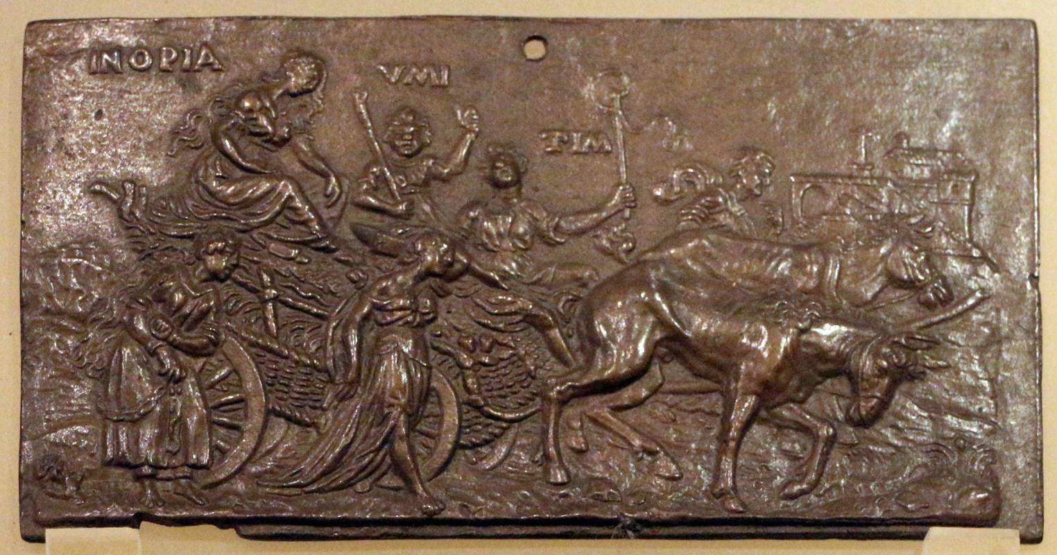 Scuola fiamminga, trionfo della povertà, 1590 ca. 02 - Sailko - Ravenna (RA)