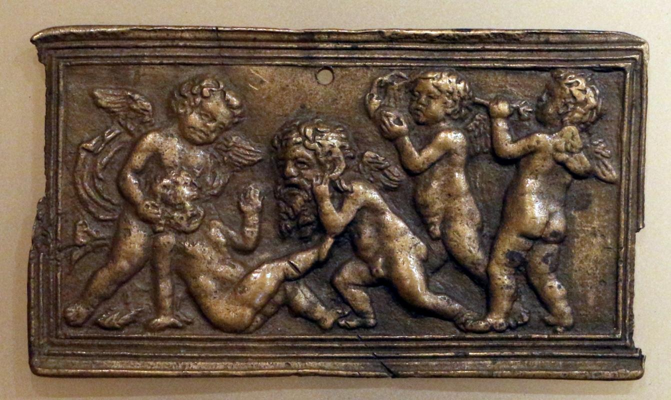 Italia del nord, amorini che giocano, 1450-1470 ca. 02 - Sailko - Ravenna (RA)