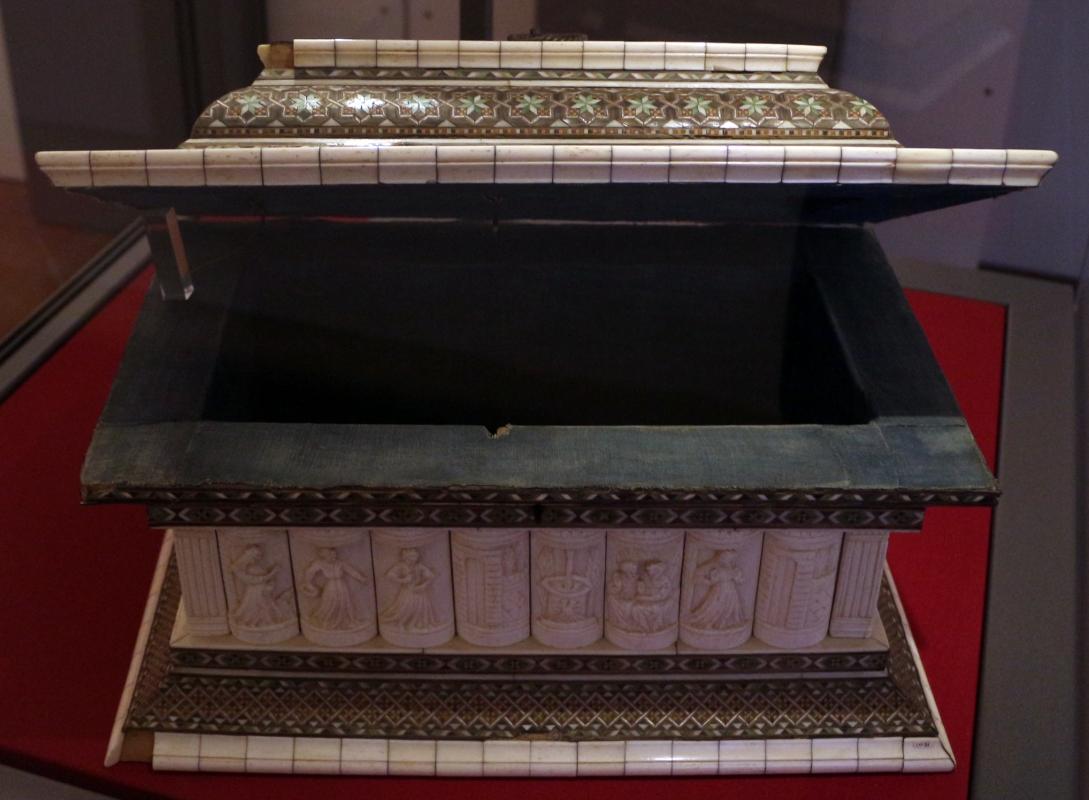 Bottega delle storie di susanna II, cofanetto con storie di susanna, italia del nord, 1450-1475 ca. 01 - Sailko - Ravenna (RA)