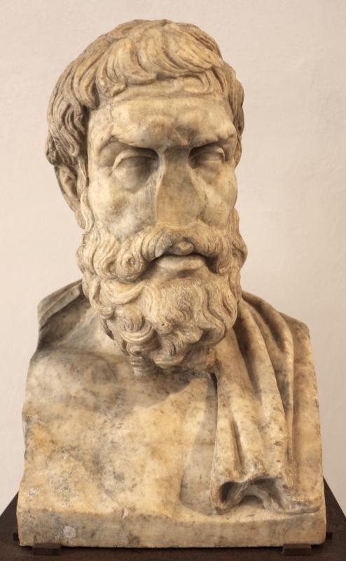 Erma di epicuro, 100-150 dc ca, da roma - Sailko - Ravenna (RA)