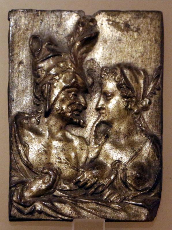 Scuola fiamminga, coppia di amanti, forse allegoria della lussuria, 1550 ca - Sailko - Ravenna (RA)