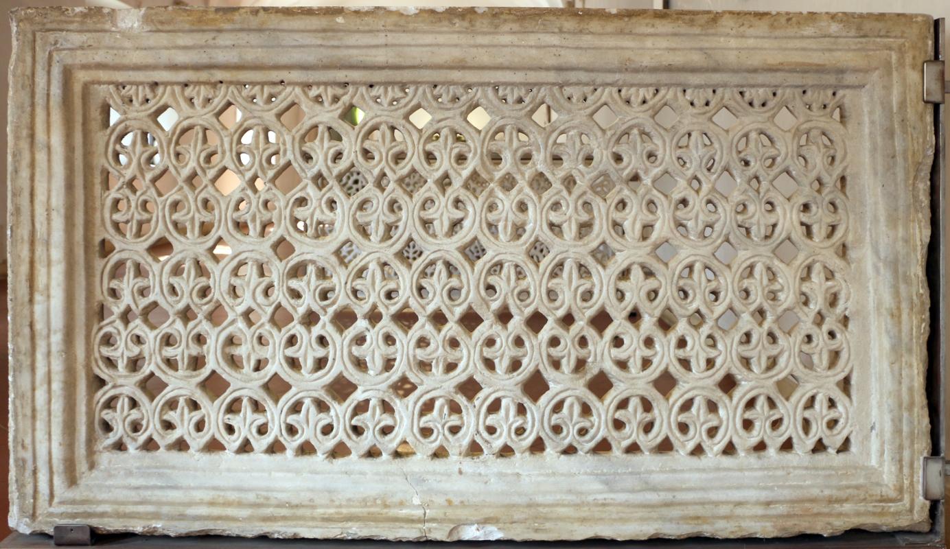 Transenna marmorea traforata, dal recinto presbiteriale di san vitale, VI secolo 01 - Sailko - Ravenna (RA)