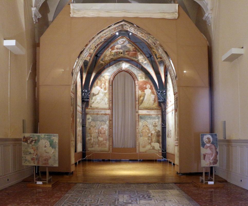Pietro da rimini e bottega, affreschi dalla chiesa di s. chiara a ravenna, 1310-20 ca. 01 - Sailko - Ravenna (RA)