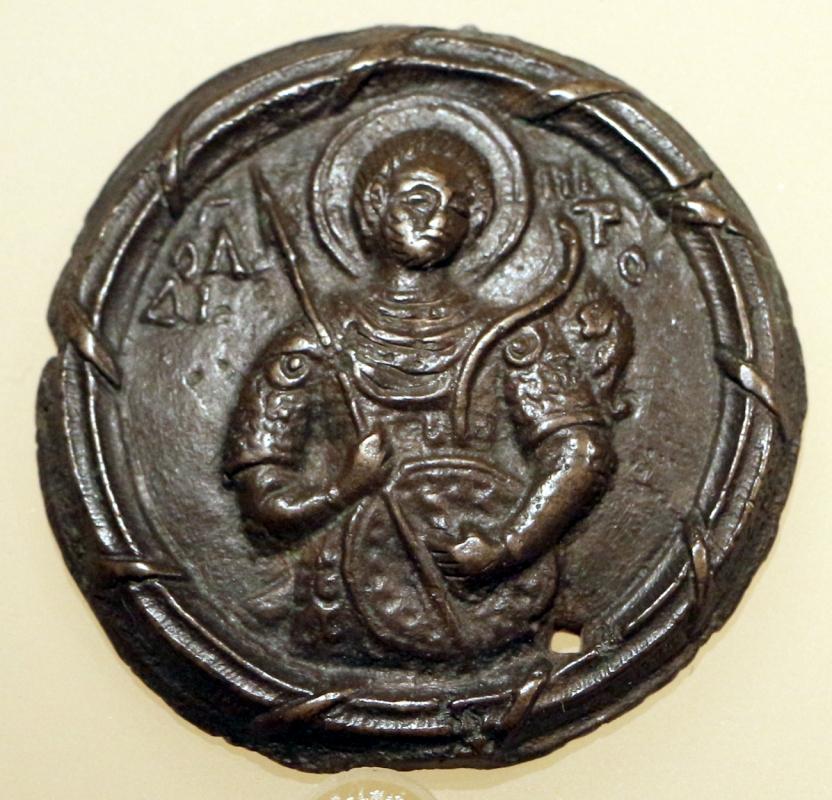 Arte tardo bizantina, san demetrio, xiv secolo - Sailko - Ravenna (RA)