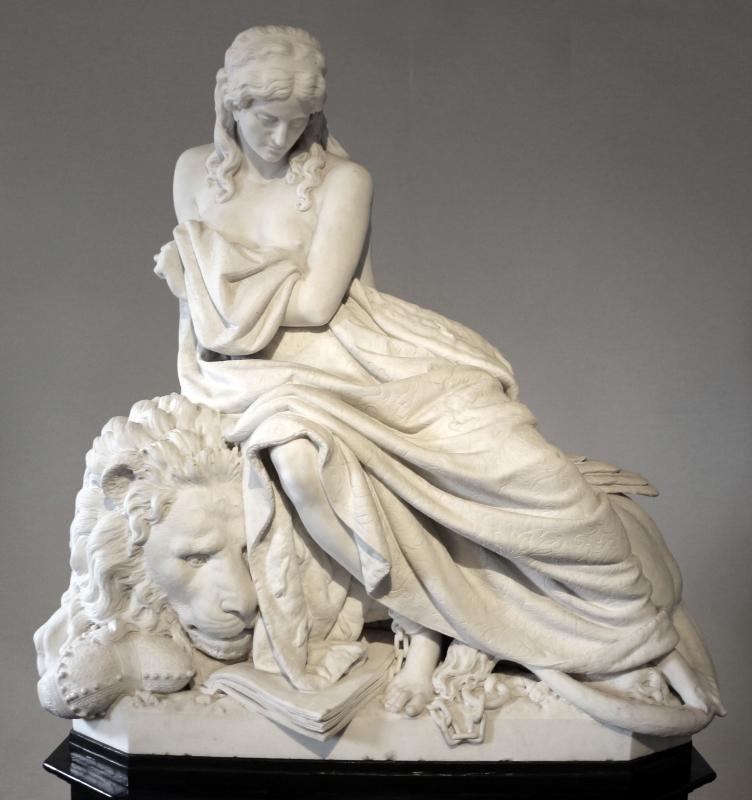 Enrico pazzi, venezia incatenata, 1884 - Sailko - Ravenna (RA)