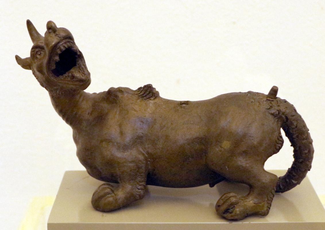Severo calzetta da ravenna (attr.), animale fantastico, 1500 ca - Sailko - Ravenna (RA)