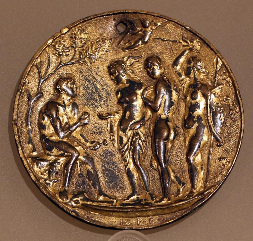 Giovanni fonduli da cremona, giudizio di paride, 1490 ca. 01 - Sailko - Ravenna (RA)