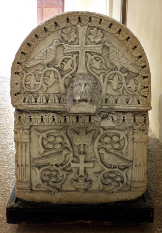 Calco del sarcofago ravennate dell'arcivescovo teodoro, 03 - Sailko - Ravenna (RA)