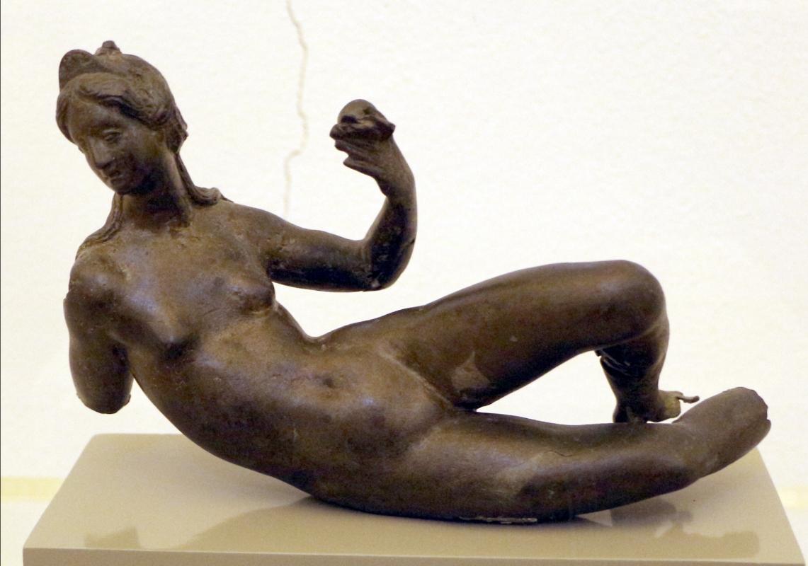 Scuola fiorentina, figura femminile semidistesa, 1550-75 ca - Sailko - Ravenna (RA)
