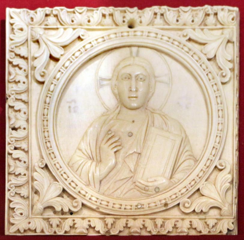 Arte carolingia del nord-italia, formelle con cristo, 790-810 dc ca - Sailko - Ravenna (RA)