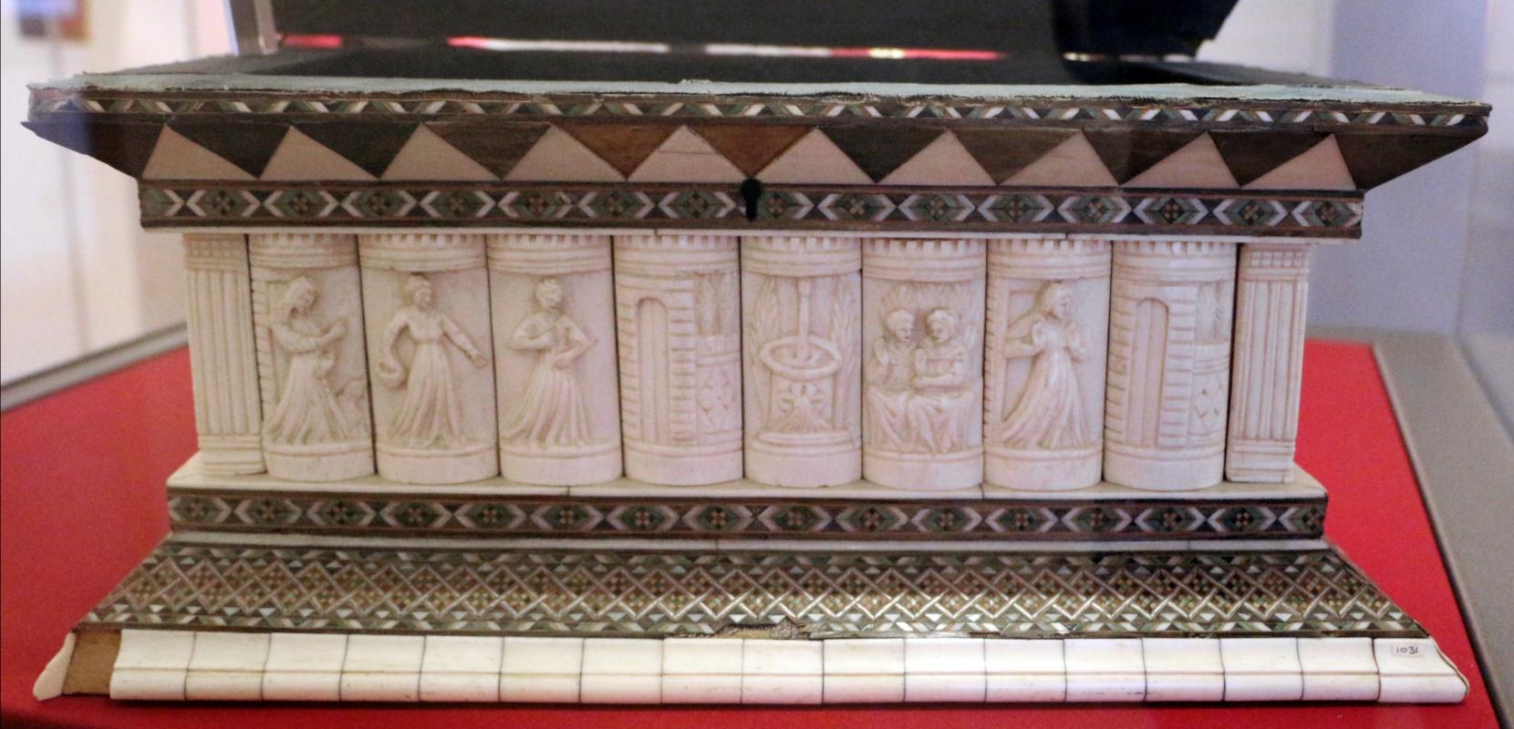 Bottega delle storie di susanna II, cofanetto con storie di susanna, italia del nord, 1450-1475 ca. 02 - Sailko - Ravenna (RA)
