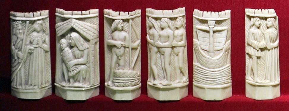 Bottega a tratteggi, placchette di cofanetto con storie di paride, italia del nord, 1425-1450 ca. 01 - Sailko - Ravenna (RA)