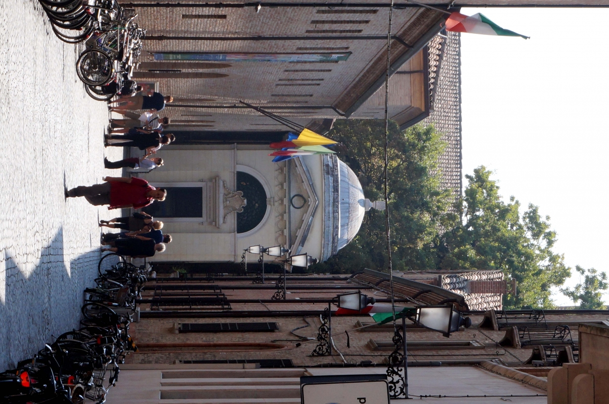 Tomba di Dante, da Via Dante Alighieri - Pieranna Manara - Ravenna (RA)