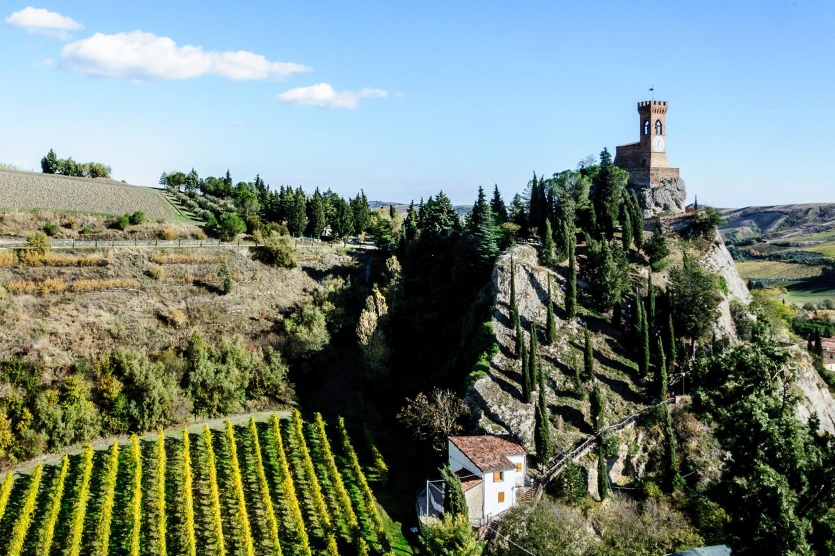 Brisighella la Torre dell'orologio - Vanni Lazzari - Brisighella (RA)