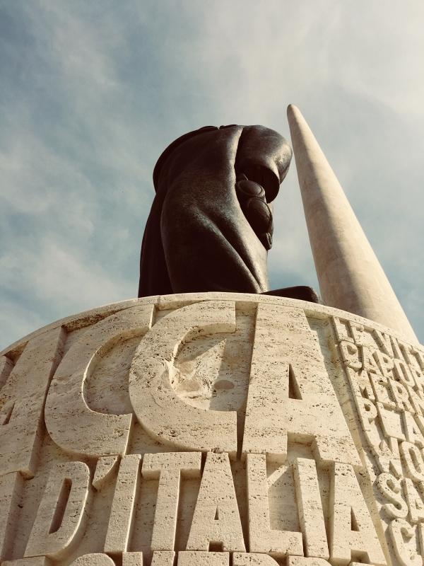 Francesco Baracca da vicino vicino 1 - Glauco Calderoni - Lugo (RA)