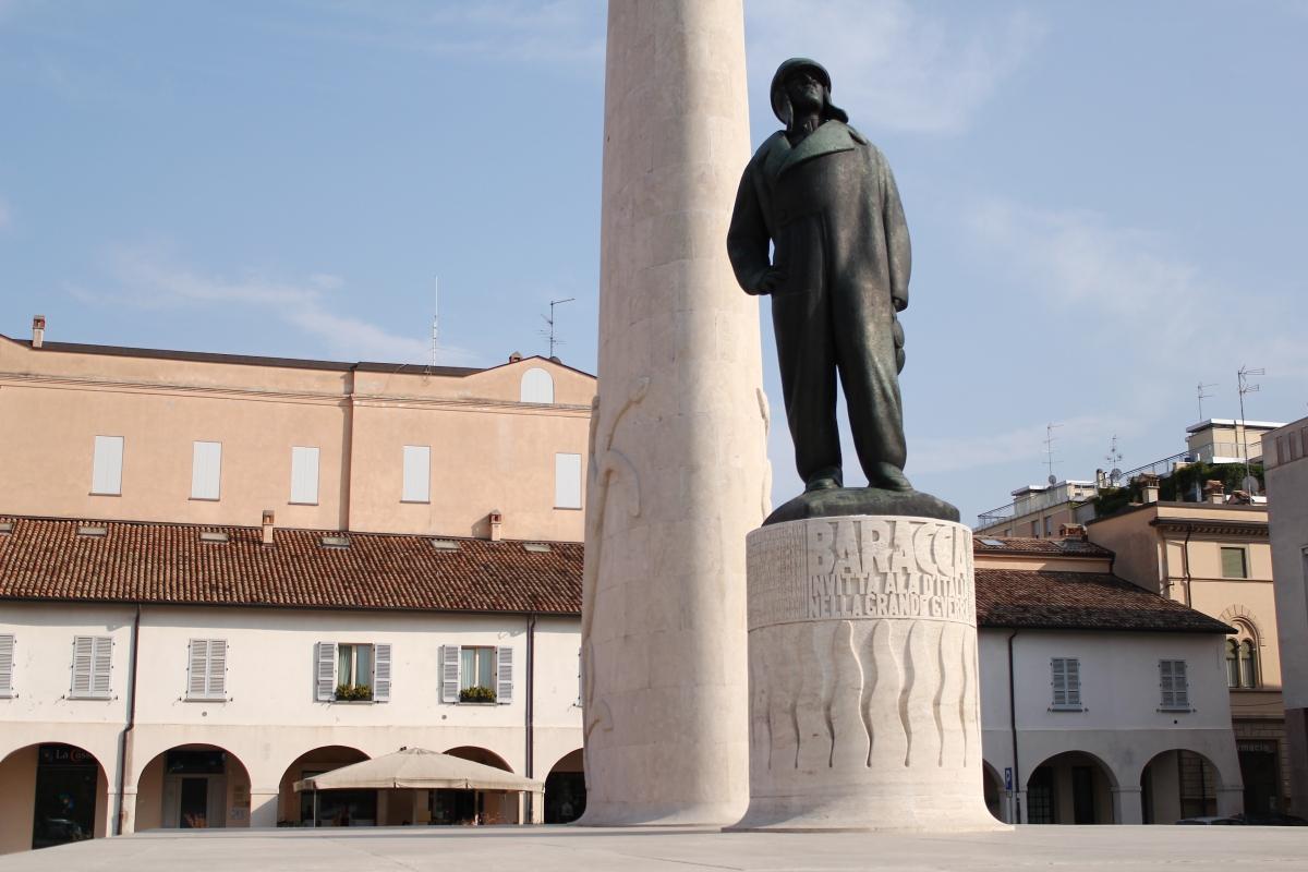 Monumento a Francesco Baracca - Vittoguazzo - Lugo (RA)