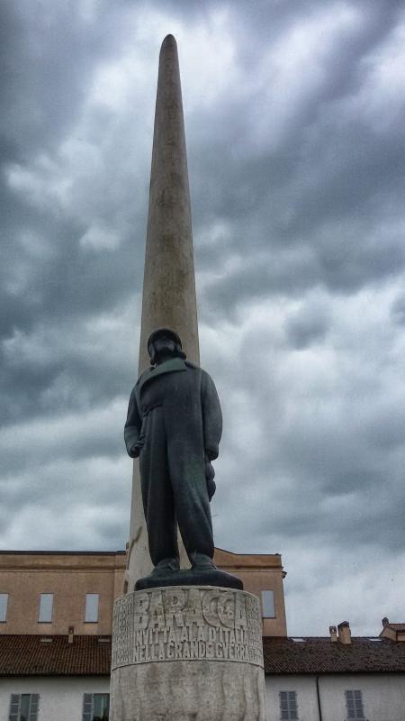 Il monumento a Francesco Baracca - Lugo di Romagna (RA) - Frenky9659 - Lugo (RA)