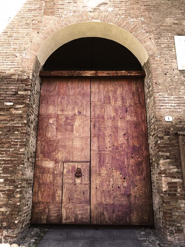 Portale d'ingresso alla Rocca Estense - Drake9996 - Lugo (RA)