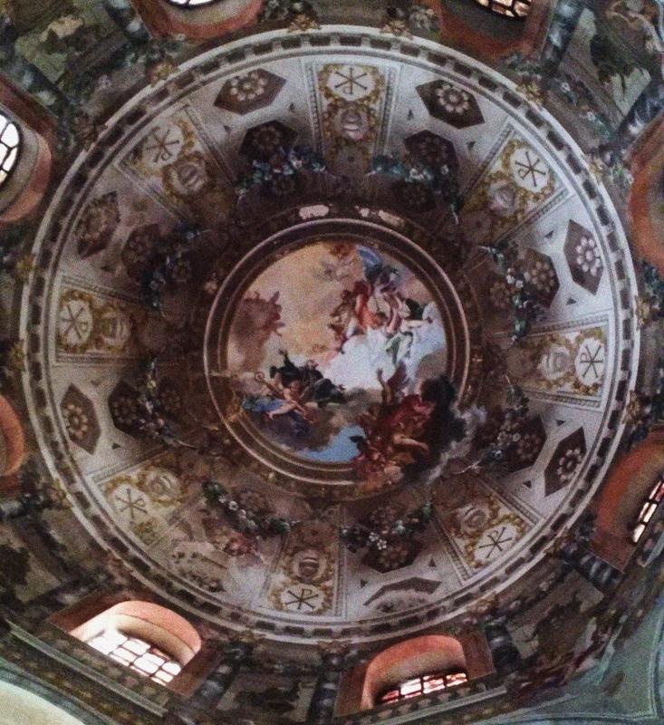 Affresco cupola San Vitale - Archeologia91 - Ravenna (RA)
