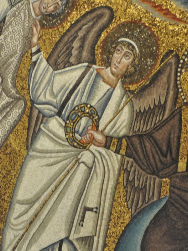 SanVitale mosaico angel - Hispalois - Ravenna (RA)