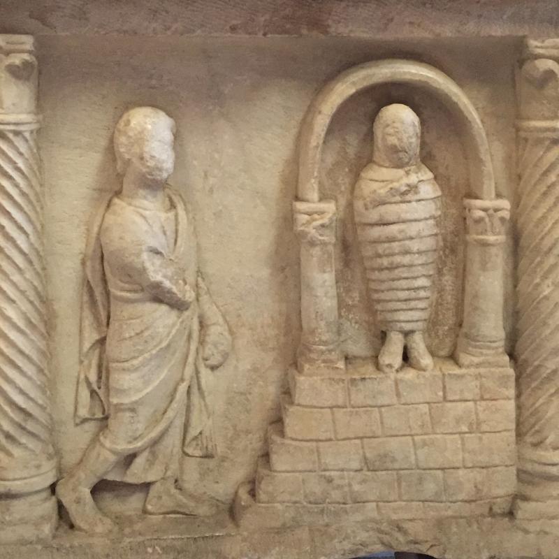 SanVitale sarcofago detalle - Hispalois - Ravenna (RA)