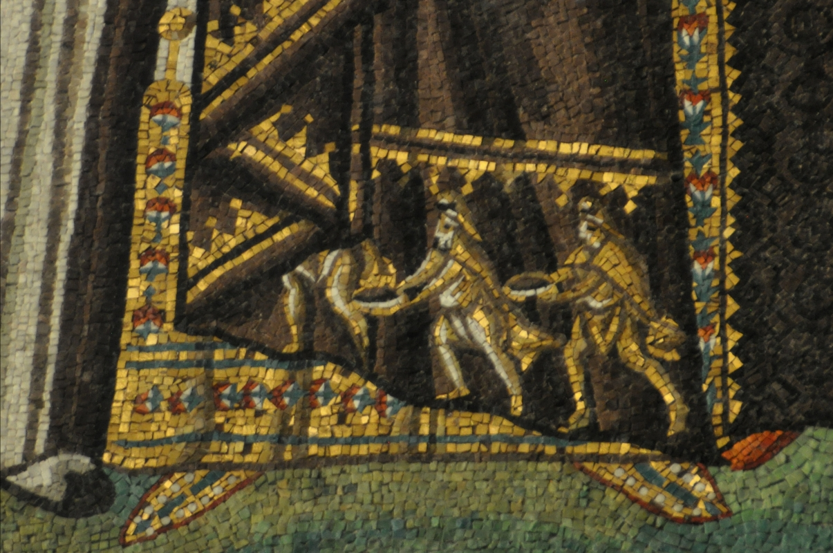 SanVitale mosaico detalle vestido emperatriz Teodora - Hispalois - Ravenna (RA)