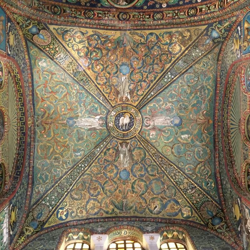 SanVitale mosaico Agnus Dei - Hispalois - Ravenna (RA)