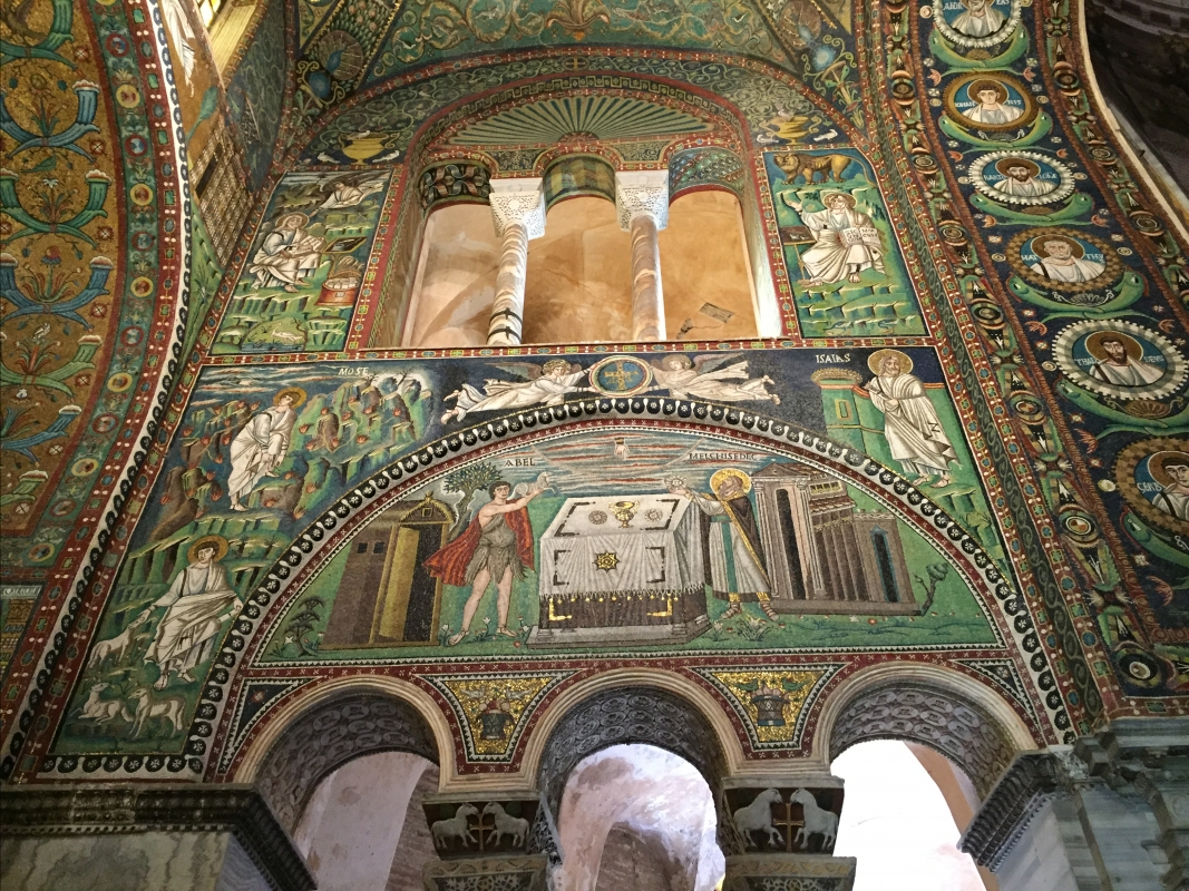 SanVitale mosaicos Abel Melquisedec - Hispalois - Ravenna (RA)