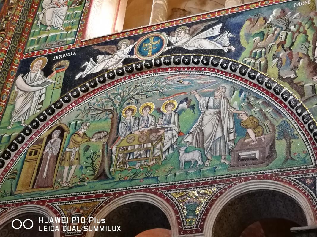 San Vitale - ospitalità di Abramo - LadyBathory1974 - Ravenna (RA)
