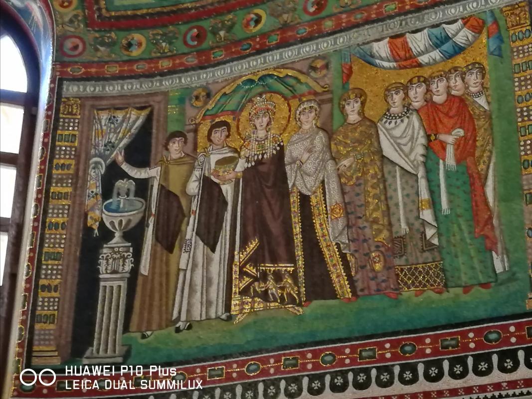 San Vitale - corteo di Teodora - LadyBathory1974 - Ravenna (RA)