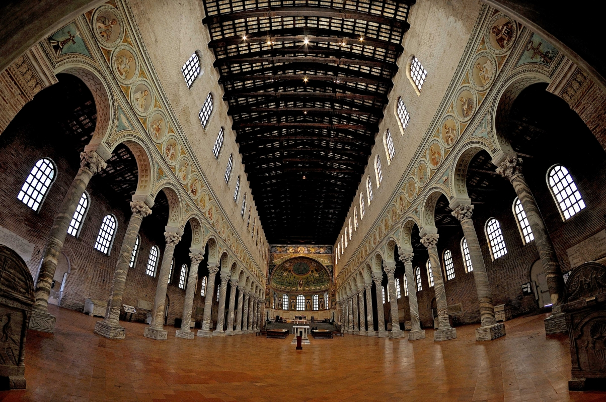 Santa Apollinare Ravenna - Italy DSC 4196 01M panoramica - Stefano Degli Esposti - Ravenna (RA)