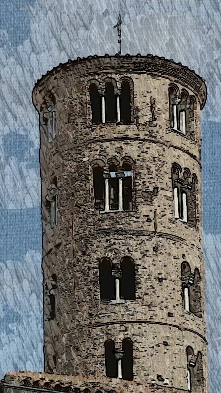 20170923 154414 campanile della chiesa di S.Apollinare nuovo - Mara panunti - Ravenna (RA)