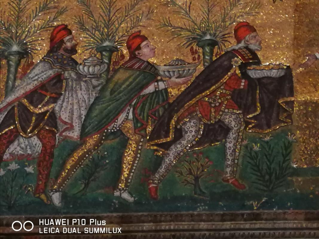 Sant'Apollinare Nuovo - particolare oranti pagani - LadyBathory1974 - Ravenna (RA)