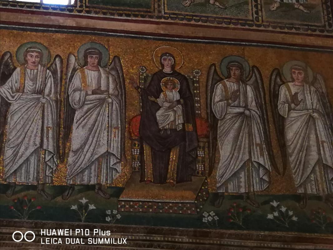 Sant'Apollinare Nuovo - particolare del Cristo assiso - LadyBathory1974 - Ravenna (RA)
