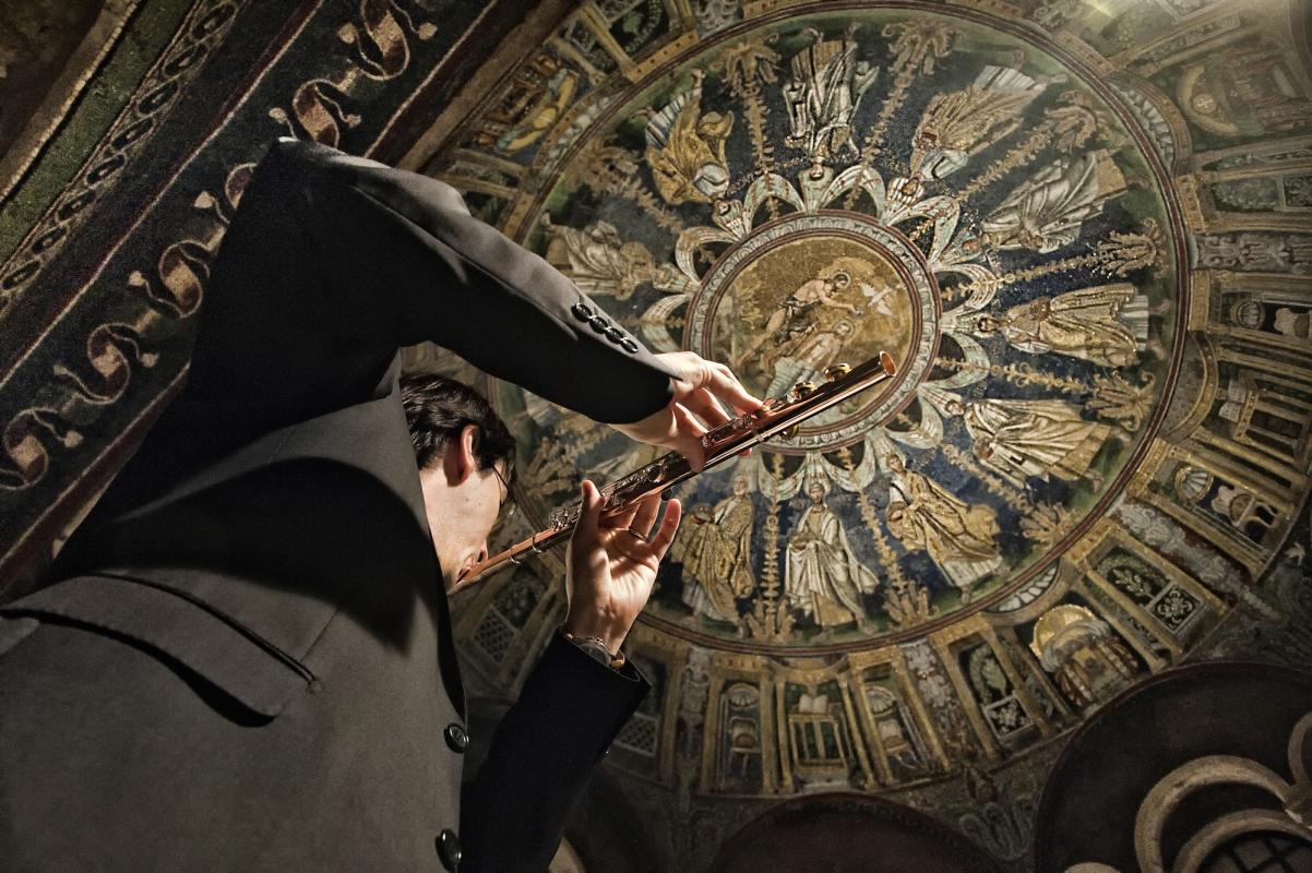 Musica e mosaico - Domenico Bressan - Ravenna (RA)