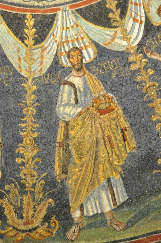 Baptisterio Neoniano - Judas Zelote - Hispalois - Ravenna (RA)