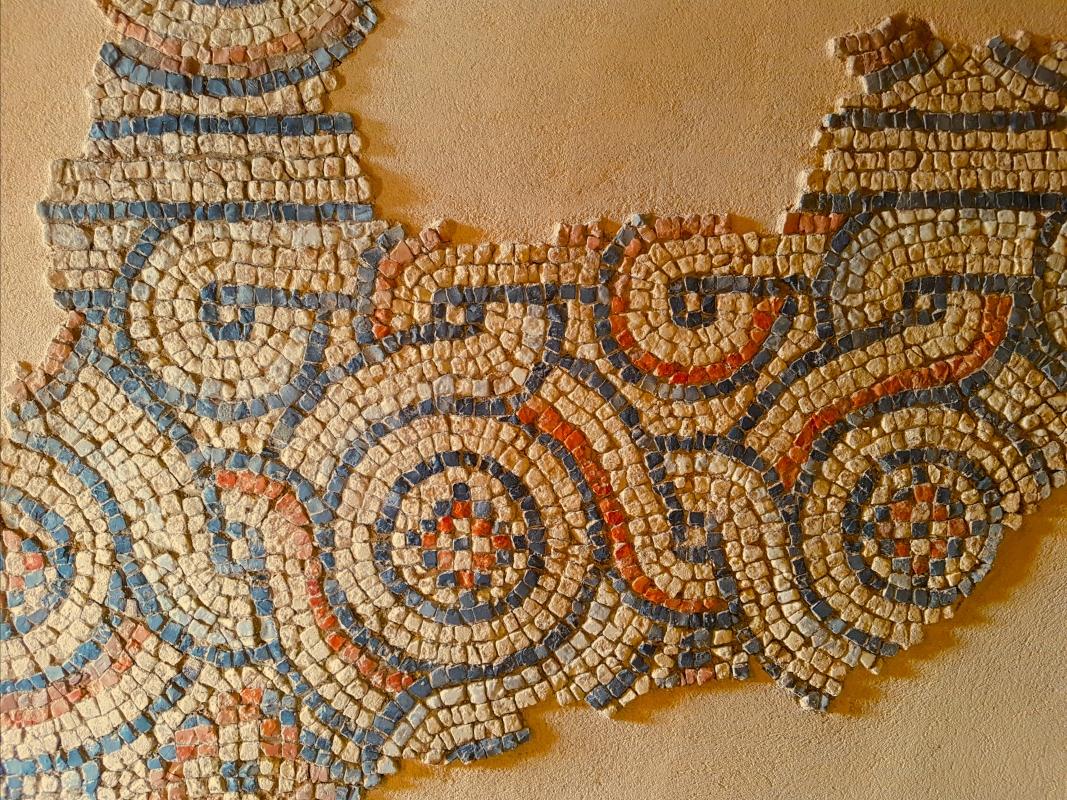 Chiesa di San Salvatore ad Chalchis cosiddetto Palazzo di Teodorico dettaglio pavimento musivo8 - Opi1010 - Ravenna (RA)