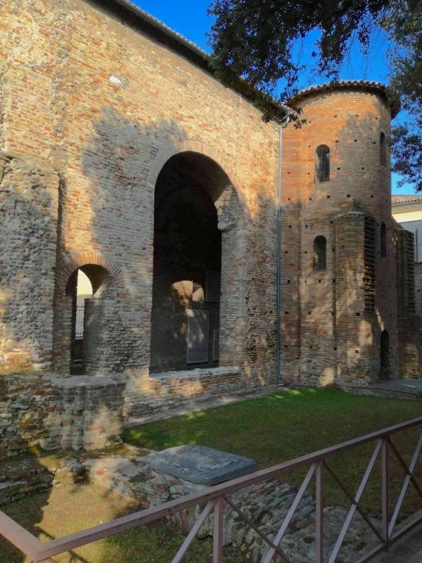 Chiesa di San Salvatore ad Chalchis-cosidetto Palazzo di Teodorico esterno - CesaEri - Ravenna (RA)