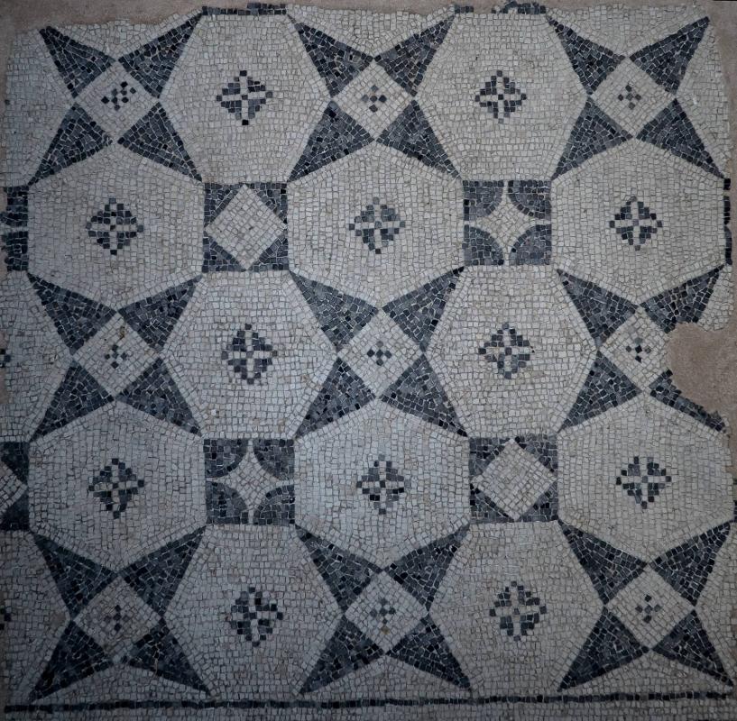 Mosaico monocromo romano - MikiRa70 - Ravenna (RA)