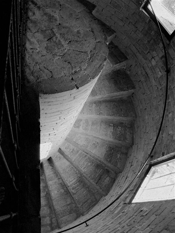 Chiesa di San Salvatore ad Chalchis-cosidetto Palazzo di Teodorico scale bn - CesaEri - Ravenna (RA)